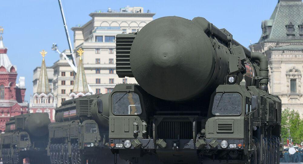 Mobilny kompleks rakietowy przeznaczenia strategicznego Jars