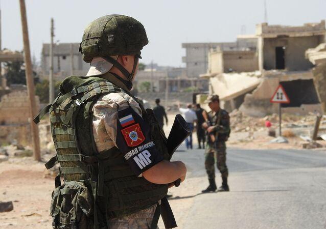 Korytarz humanitarny Abu Duhur w syryjskiej prowincji Idlib