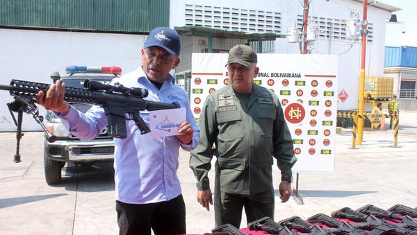 Wenezuela, broń z USA - Sputnik Polska