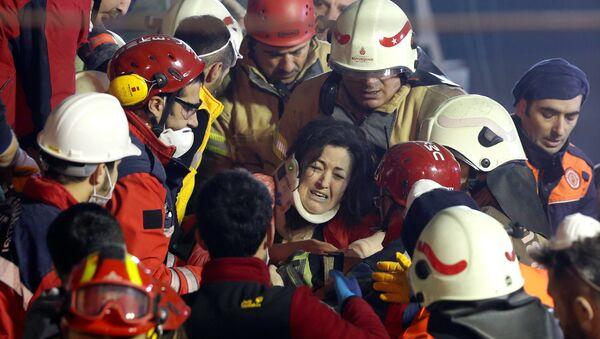 Operacja ratunkowa w Stambulu, Turcja - Sputnik Polska