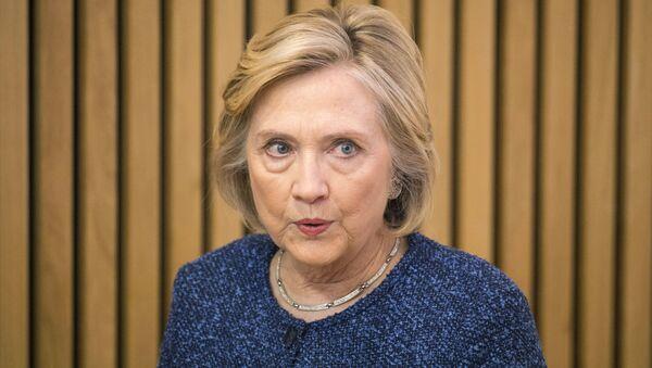 Była sekretarz stanu USA Hillary Clinton - Sputnik Polska