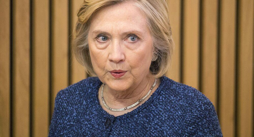 Była sekretarz stanu USA Hillary Clinton