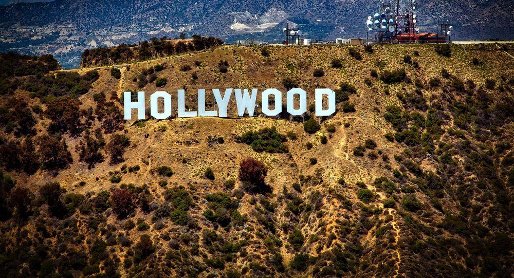 """Hollywood Sign – punkt orientacyjny w postaci napisu """"HOLLYWOOD"""" w USA"""