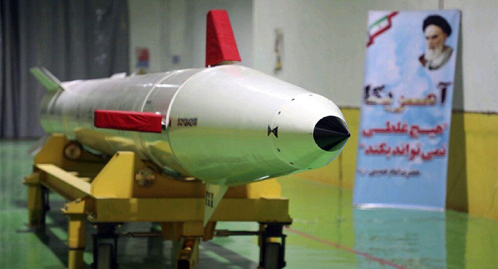 Nowy pocisk balistyczny Dezful zaprezentowany w Iranie