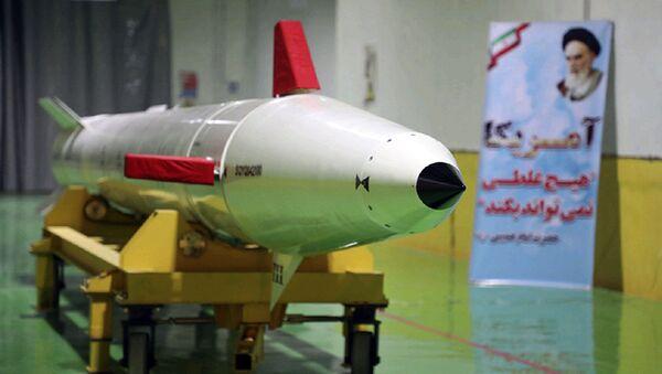 Nowy pocisk balistyczny Dezful zaprezentowany w Iranie - Sputnik Polska