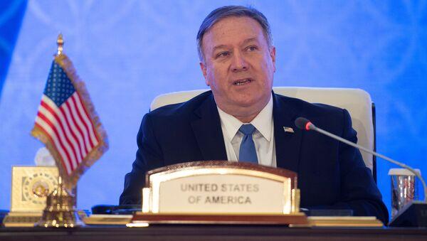 Sekretarz stanu USA Mike Pompeo. Zdjęcie archiwalne - Sputnik Polska