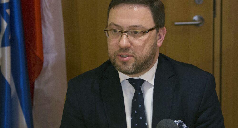 Wiceszef MSZ Bartosz Cichocki