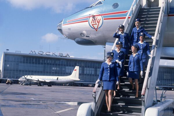 Port lotniczy Domodiedowo w Moskwie - Sputnik Polska
