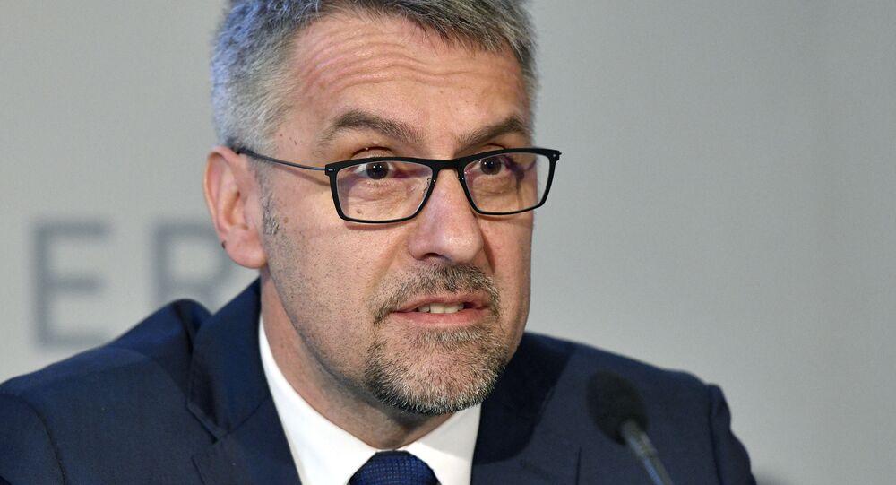Czeski minister obrony Lubomir Metnar