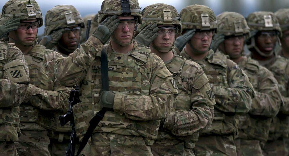 Amerykańscy żołnierze na manewrach w Bułgarii