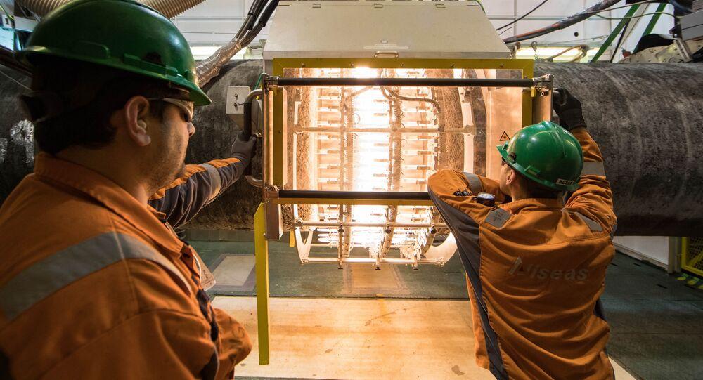 Budowa gazociągu Nord Stream 2 na wodach Niemiec