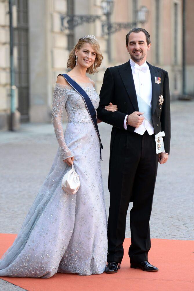 Tatiana , księżna Grecji i Danii, żona księcia Nikolaosa, syna zdetronizowanego króla Grecji Konstantyna