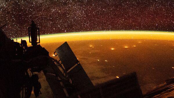 Atmosfera Ziemi, sfotografowana przez astronautę z pokładu MSK - Sputnik Polska