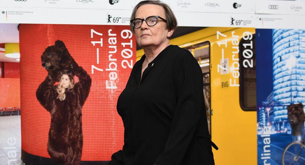 Reżyserka Agnieszka Holland