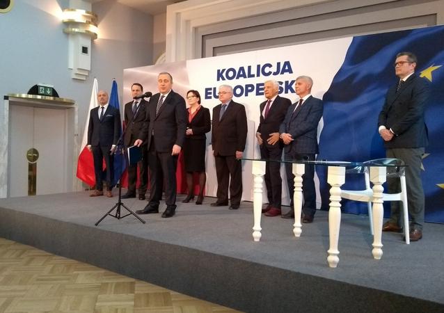 Koalicja Europejska dla Polski - nowy pomysł przed wyborami do Parlamentu Europejskiego
