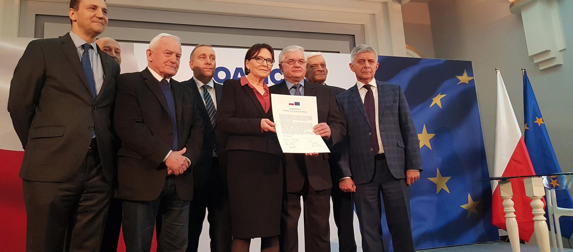 Koalicja Europejska dla Polski - nowy pomysł przed wyborami do Parlamentu Europejskiego - Sputnik Polska, 1920, 05.03.2021