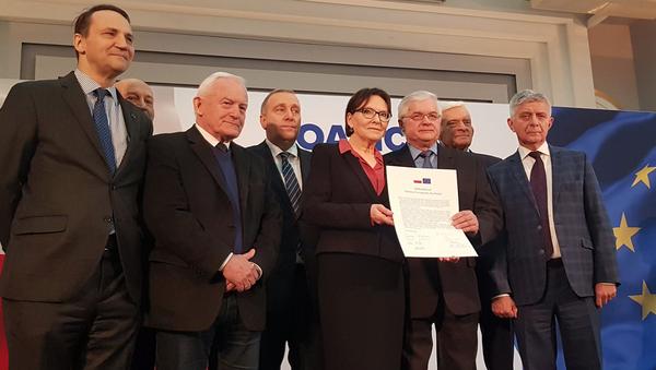Koalicja Europejska dla Polski - nowy pomysł przed wyborami do Parlamentu Europejskiego - Sputnik Polska