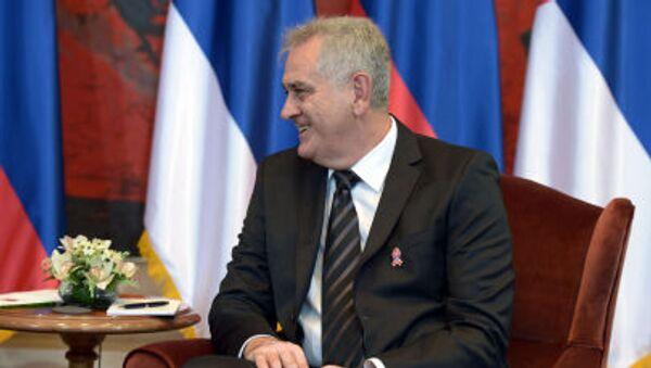 Prezydent Serbii Tomislav Nikolić - Sputnik Polska