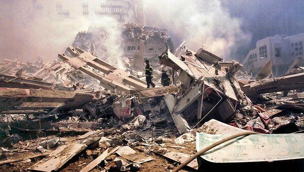 Gruzy WTC po zamachach terrorystycznych 11 września w Nowym Jorku - Sputnik Polska
