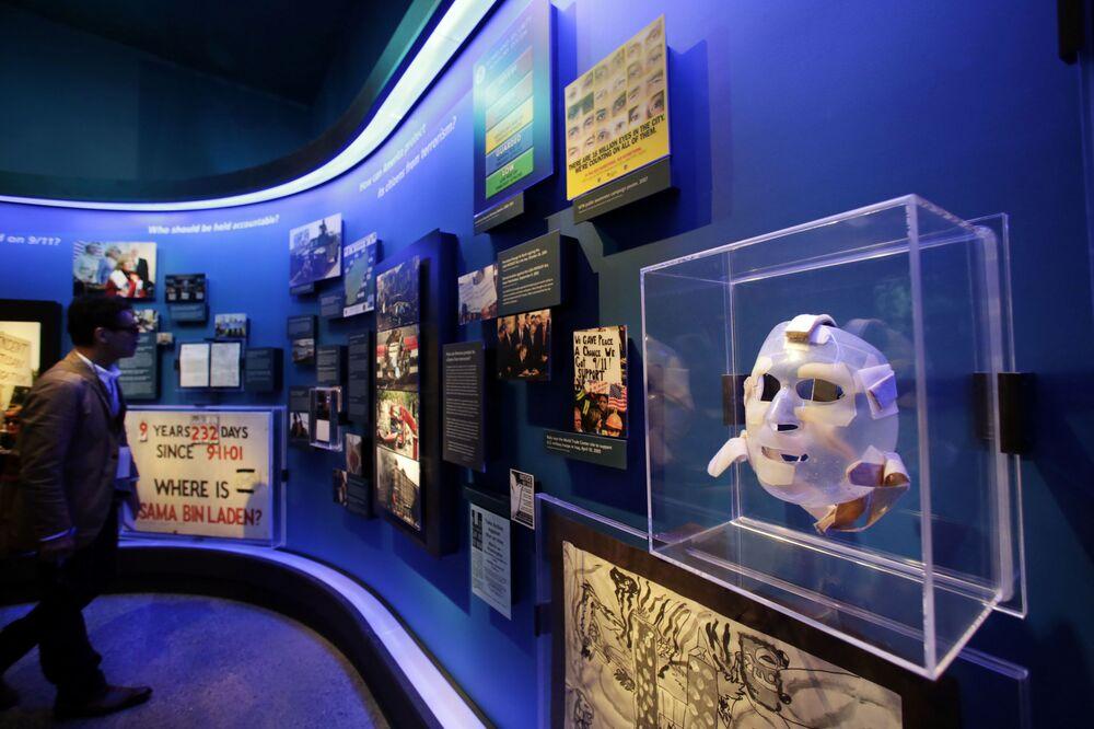 Wystawa w Muzeum Pamięci Ofiar zamachów terrorystycznych 11 września