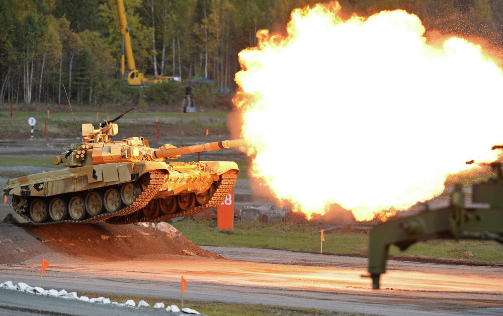 Otwarcie 10. Międzynarodowych Targów Wojskowych Russia Arms Expo