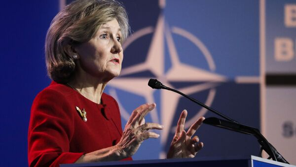 Stały przedstawiciel USA w NATO Kay Bailey Hutchison - Sputnik Polska