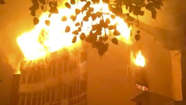 Pożar w hotelu w Delhi - Sputnik Polska