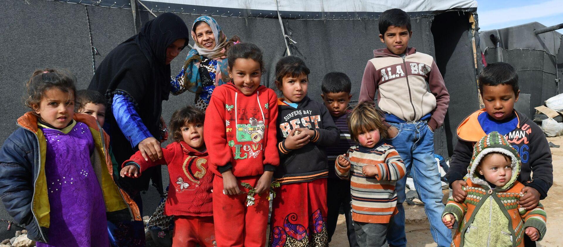 Dzieci w Homsie, Syria - Sputnik Polska, 1920, 25.02.2021