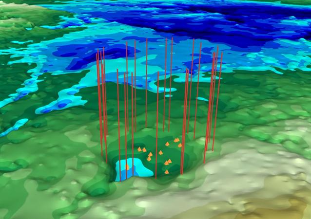 Drugi masywny krater uderzeniowy pod lodem Grenlandii odnaleziony przez NASA