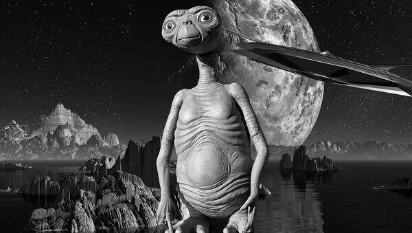 Artystyczne wyobrażenie istoty z obcej planety - Sputnik Polska