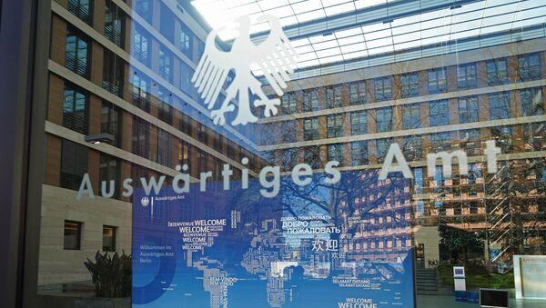 Ministerstwo spraw zagranicznych Niemiec w Berlinie - Sputnik Polska
