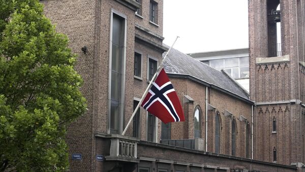 Flaga Norwegii - Sputnik Polska