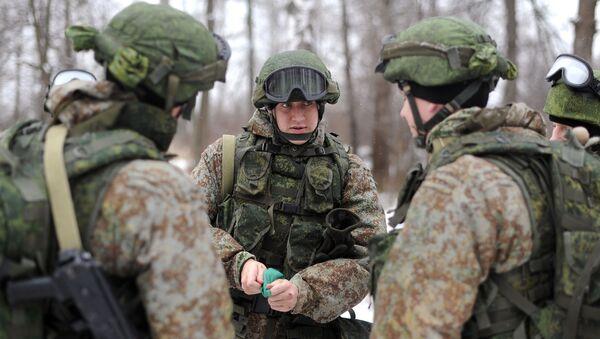 Nowy ekwipunek dla żołnierzy wojsk lądowych - Sputnik Polska