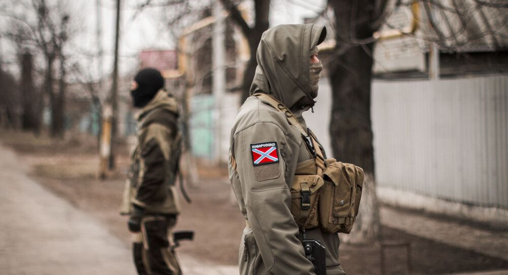 Powstańcy Donieckiej Republiki Ludowej