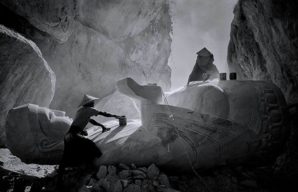 Fot. Min Min Zaw, który wygrał w kategorii Black & White w konkursie Mobile Photography Awards 2018