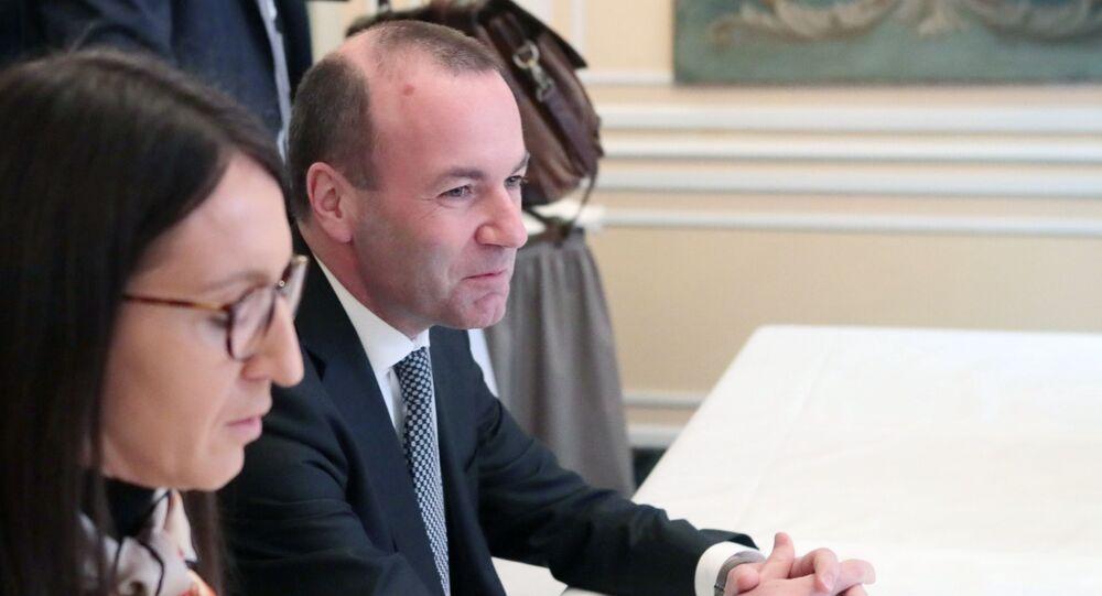 Manfred Weber  na Monachijskiej Konferencji Bezpieczeństwa
