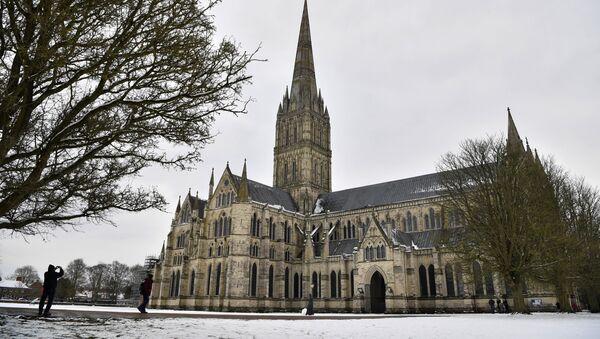 Katedra w Salisbury - Sputnik Polska