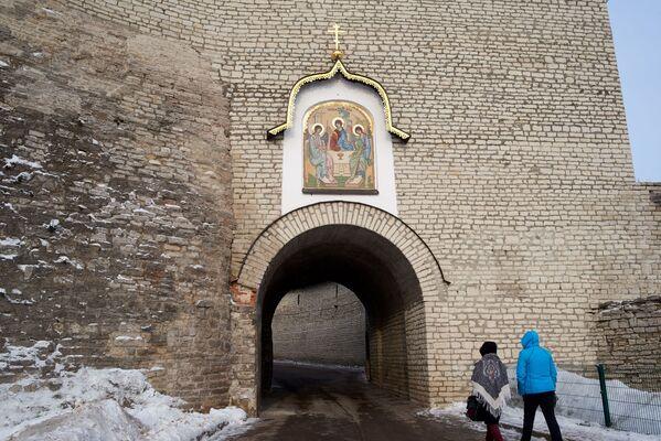 Wejście do Centrum Historyczno-Architektonicznego Pskowskiego Kroma - Sputnik Polska