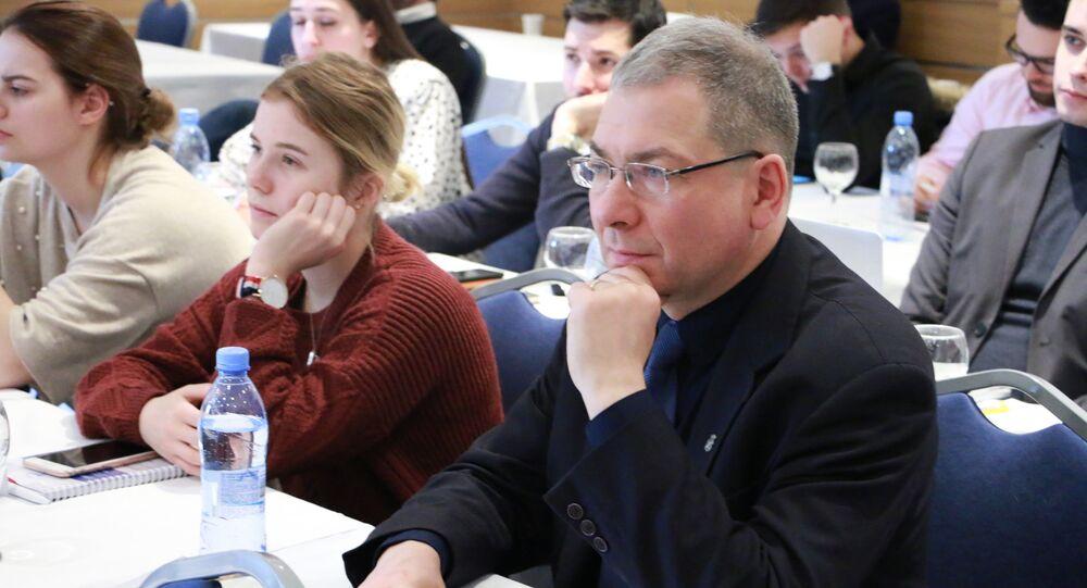 Profesor dr hab. Joachim Diec, kierownik Katedry Badań nad Obszarem Eurazjatyckim na Uniwersytecie Jagiellońskim w Krakowie.