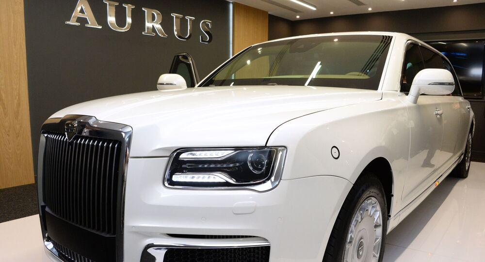 Aurus Senat. Targi obrony IDEX-2019 w Abu Dhabi