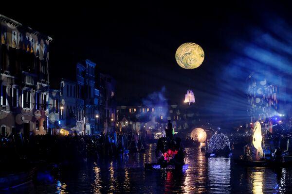 Karnawał w Wenecji 2019 - Sputnik Polska