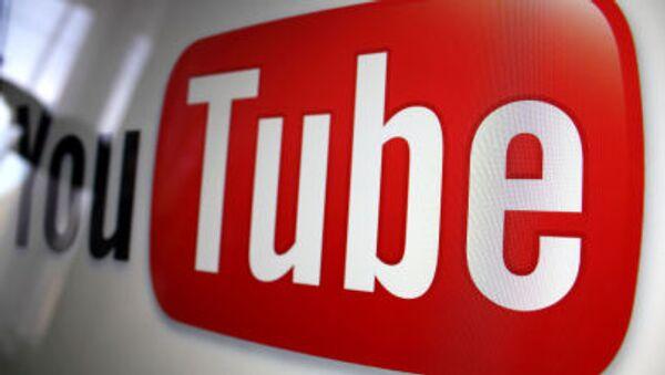 Logo YouTube - Sputnik Polska