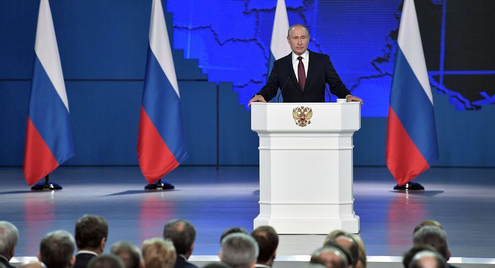 Przemówienie Władimira Putina do Zgromadzenia Federalnego FR. 20 lutego 2019 r.