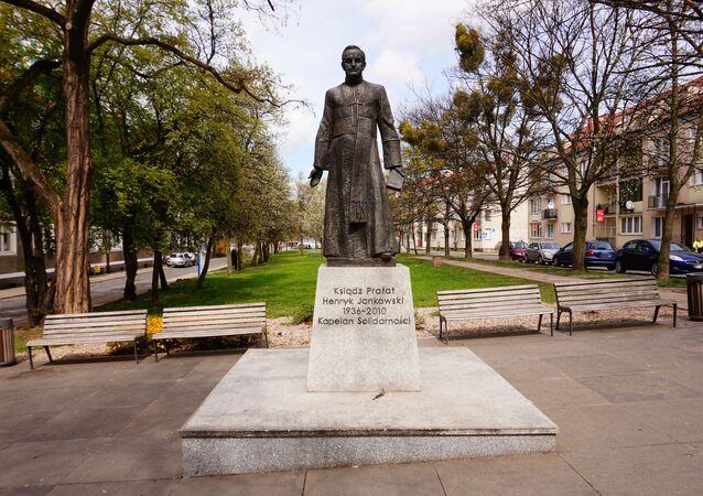 Pomnik księdza Henryka Jankowskiego, Gdańsk