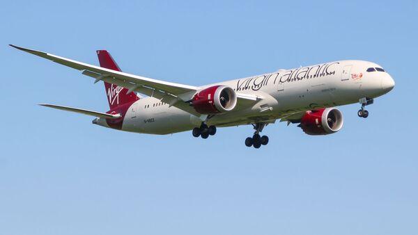 Samolot Boeing 787-9 Dreamliner linii lotniczej Virgin Atlantic - Sputnik Polska