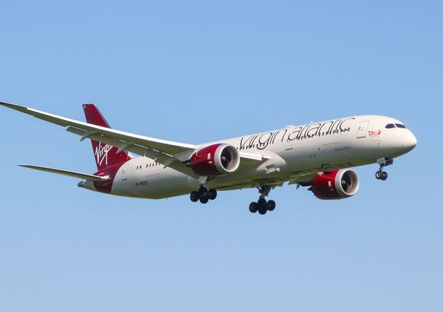 Samolot Boeing 787-9 Dreamliner linii lotniczej Virgin Atlantic