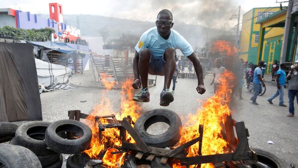 Protesty na Haiti - Sputnik Polska