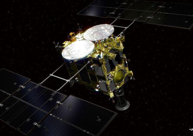 """Automatyczna stacja międzyplanetarna Japońskiej Agencji Kosmicznej """"Hayabusa-2"""""""