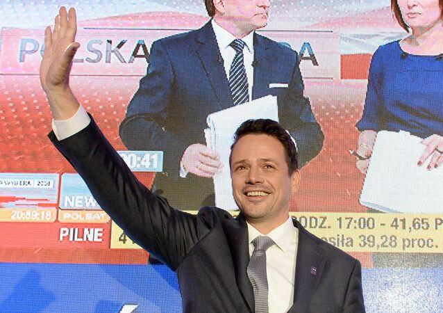 Prezydent Warszawy Rafał Trzaskowski