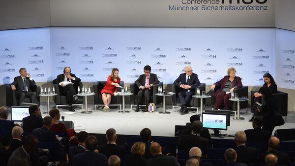 55. Międzynarodowa Konferencja Bezpieczeństwa w Monachium - Sputnik Polska